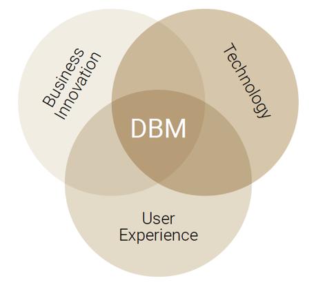 Kernbereiche des DBM-Studiums als Venn-Diagramm