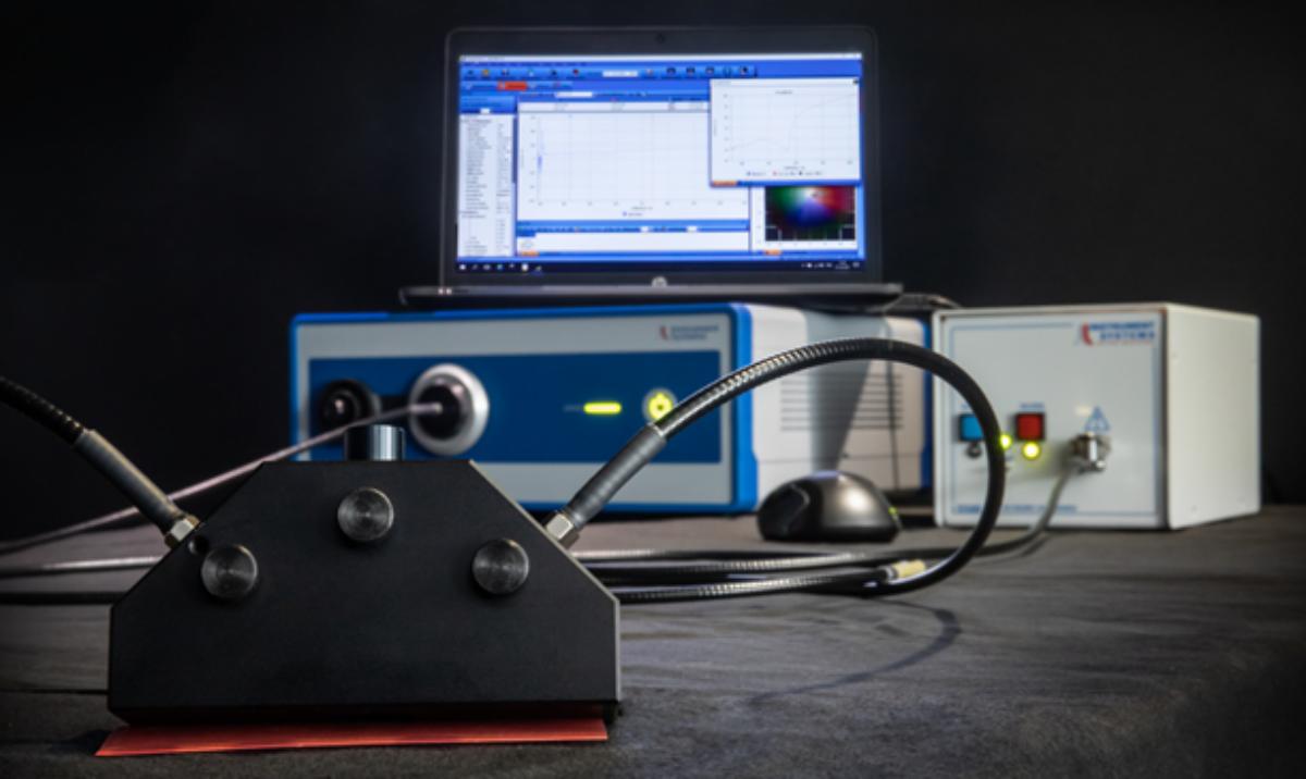 Reflexionsmessungen mit dem Array-Spektralradiometer
